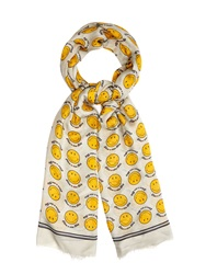 Anya Hindmarch Smiley Face Scarf