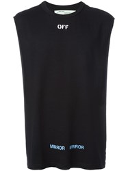 Off White Care T Shirt Black