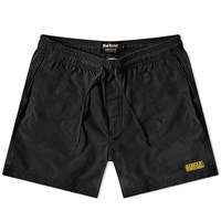 Barbour International Small Logo Swim Short Black