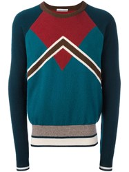 Andrea Pompilio Crew Neck Jumper Green