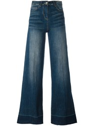 Twin Set Wide Legged Jeans Blue