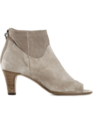 Laboratorigarbo 'Rose' Open Toe Boots Nude And Neutrals