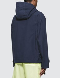 Acne Studios Blue Ophion Ripstop Anorak Jacket