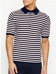 Paul Smith Ps By Merino Jumper With Stripe Navy