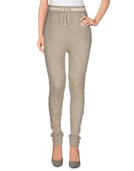 Virginie Castaway Trousers Casual Trousers Women Beige