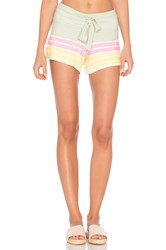 Wildfox Couture Vintage Holiday Shorts Sage