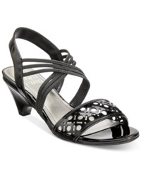 Impo Elora Stretch Dress Sandals Women's Shoes Black