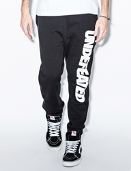 Undefeated Black Undefeated Sweatpants Hypebeast Store.
