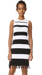 Bb Dakota Jack By Dri Stripe Sweater Dress Black