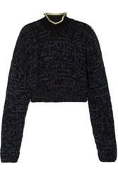 Alexander Wang T By Knitted Turtleneck Sweater Black
