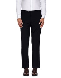 Paoloni Trousers Casual Trousers Men Dark Blue