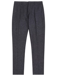 Reiss Riggs Flecked Modern Fit Suit Trousers Midnight