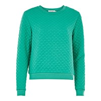 Louche Jan Textured Sweat Green
