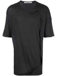 Chalayan Framed T Shirt Black