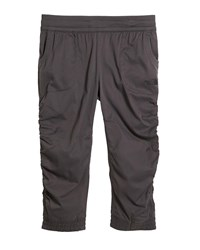 The North Face Aphrodite Ruched Lightweight Capris Gray