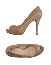 Guess Footwear Courts Women Camel