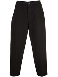 Casey Casey Tapered Trousers Black