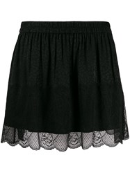 Zadig And Voltaire Lace Skirt Black