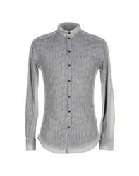 Dandg Denim Denim Shirts Men