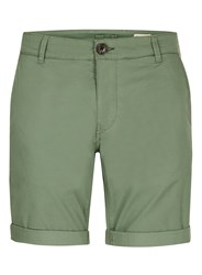 Selected Green Homme Slim Fit Cotton Shorts