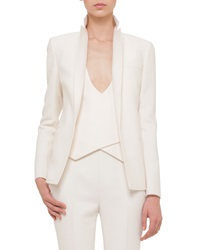 Akris Double Faced Blazer Style Jacket