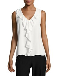 Nipon Boutique Ruffle Front Shell Lily