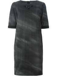 High 'Mindful' Dress Grey