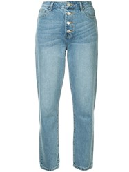 Georgia Alice Straight Leg Denim Blue