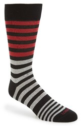 Lorenzo Uomo Men's 'Stripes' Socks