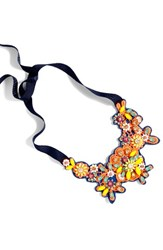 J.Crew Women's Embellished Bib Necklace