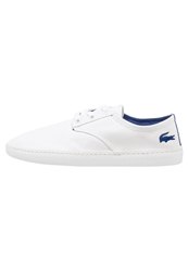 Lacoste Malahini Deck Trainers White Dark Blue