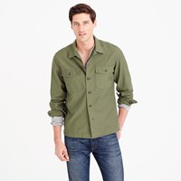 J.Crew Wallace And Barnes Military Shirt Jacket