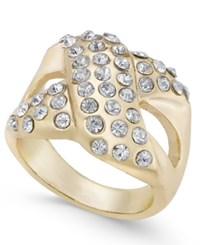 Thalia Sodi Pave X Ring Only At Macy's Gold