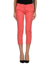 Pinko Trousers 3 4 Length Trousers Women Coral