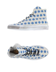 Forfex High Top Sneakers Azure