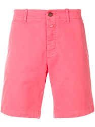 Closed Casual Chino Shorts Pink And Purple