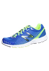 New Balance M590 Weite D Cushioned Running Shoes Blue Green