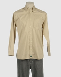 Dockers Long Sleeve Shirts Beige