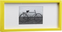 Cb2 Rectangular Yellow Hi Gloss 4X6 Picture Frame