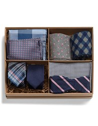 The Tie Bar The Classic Navy Style Box