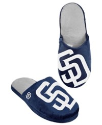 Forever Collectibles Men's San Diego Padres Big Logo Slippers