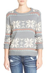 Junior Women's Element 'Maleena' Geo Pattern Sweater