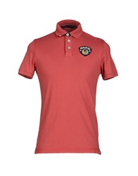 Napapijri Topwear Polo Shirts Men Brick Red