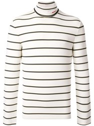 Calvin Klein 205W39nyc Striped Sweater White