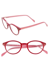 Lilly Pulitzer 'Oasis' 45Mm Reading Glasses Red Pink Laminate