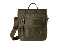 Heys America Hilite Crossbody Messenger With Rfid Olive Messenger Bags