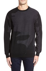 Bugatchi Men's Merino Wool Crewneck Sweater