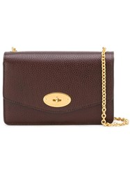 Mulberry Chain Strap Crossbody Bag Red