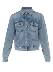 Acne Studios Point Collar Denim Jacket Indigo