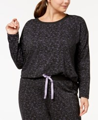 By Jennifer Moore Plus Size Printed Pajama Top Created For Macy's